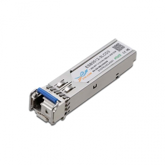 1.25G BiDi SFP TX1310/RX1550nm 3KM LC Optical Transceiver