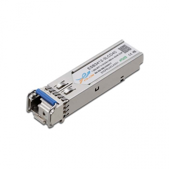 1.25G BiDi SFP TX1310/RX1490nm 40KM LC Optical Transceiver