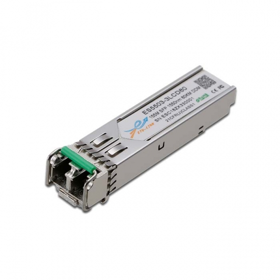 155M SFP 1550nm 80KM LC Optical transceiver