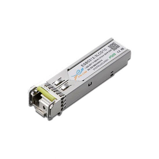 1.25G BiDi SFP TX1550/RX1310nm 10KM LC Optical Transceiver