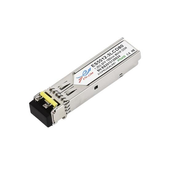 2.5G DWDM SFP 120KM LC Optical Transceiver