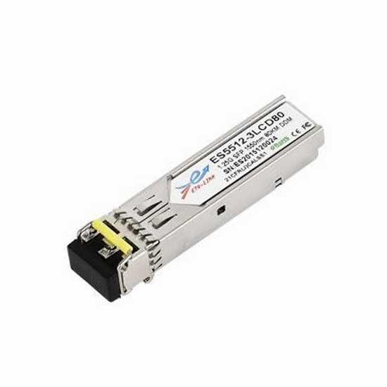 2.5G DWDM SFP 80KM LC Optical Transceiver