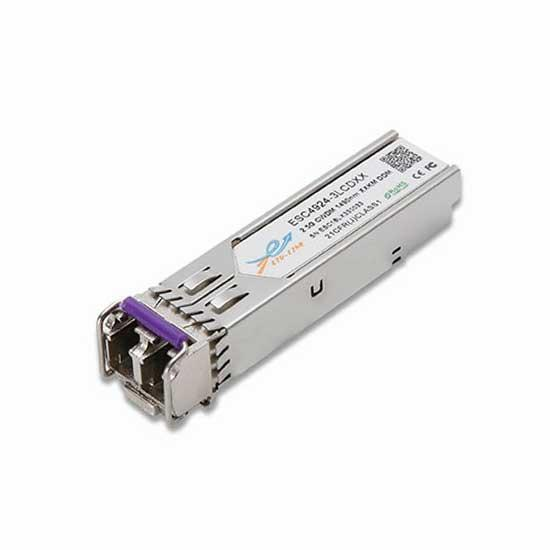 2.5G CWDM SFP 80KM LC Optical Transceiver